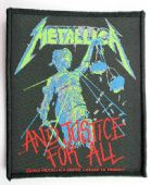 Metallica - '..And Justice For All' Woven Patch